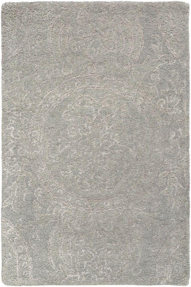 Alivia Gray Abstract Area Rug Rug Size: Rectangle 2' x 3'