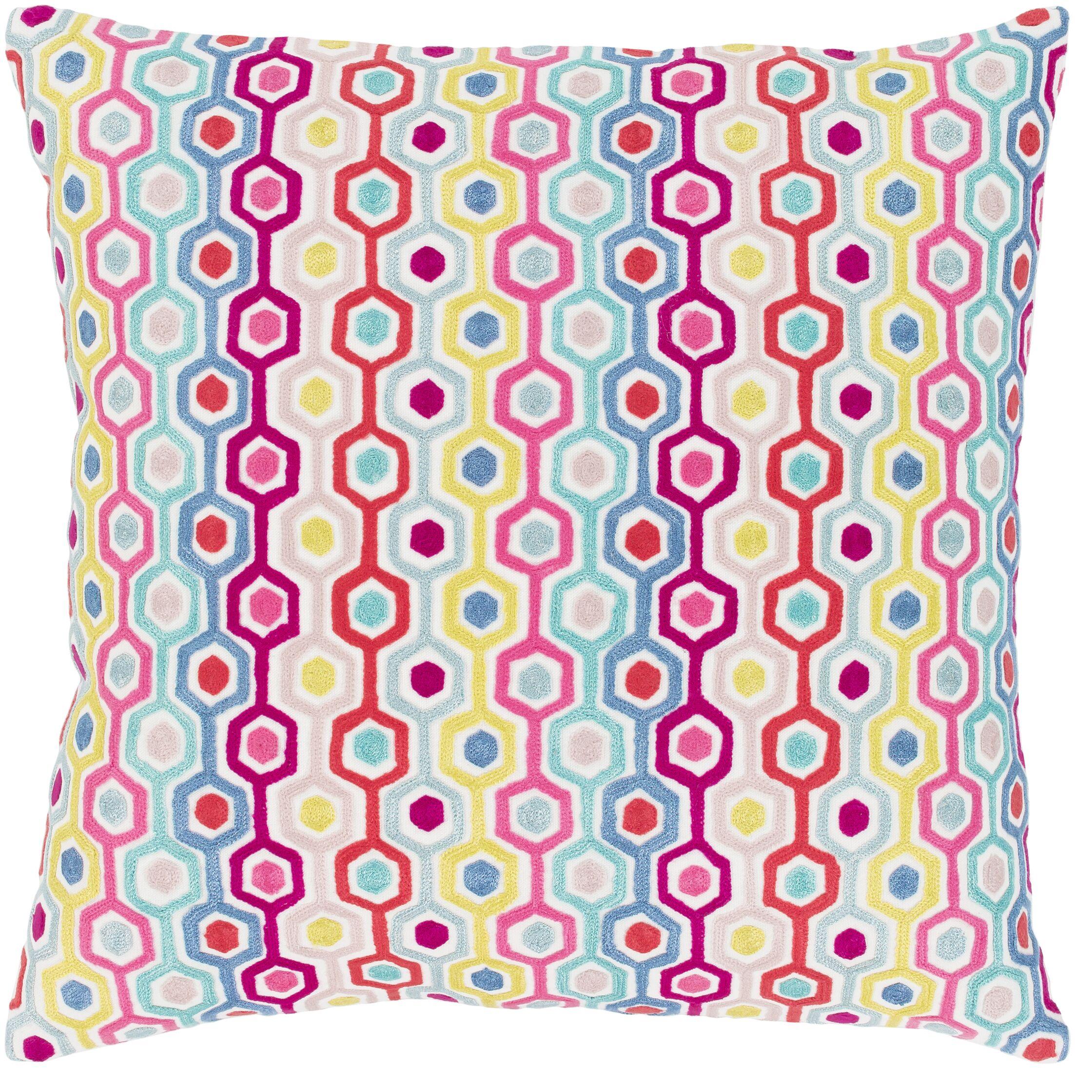 Astrid 100% Cotton Throw Pillow Size: 20