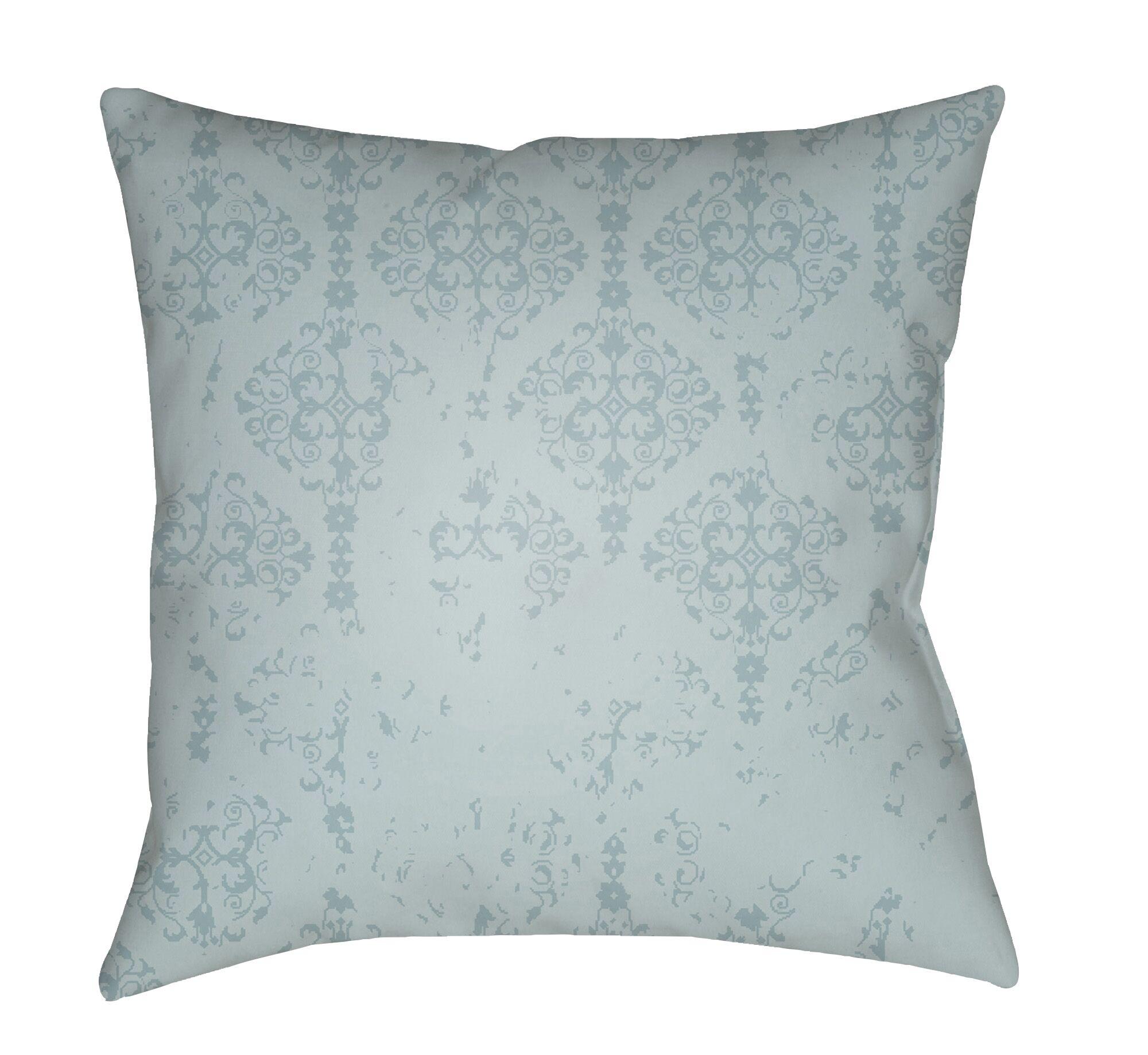 Patridge Indoor/Outdoor Throw Pillow Color: Mint