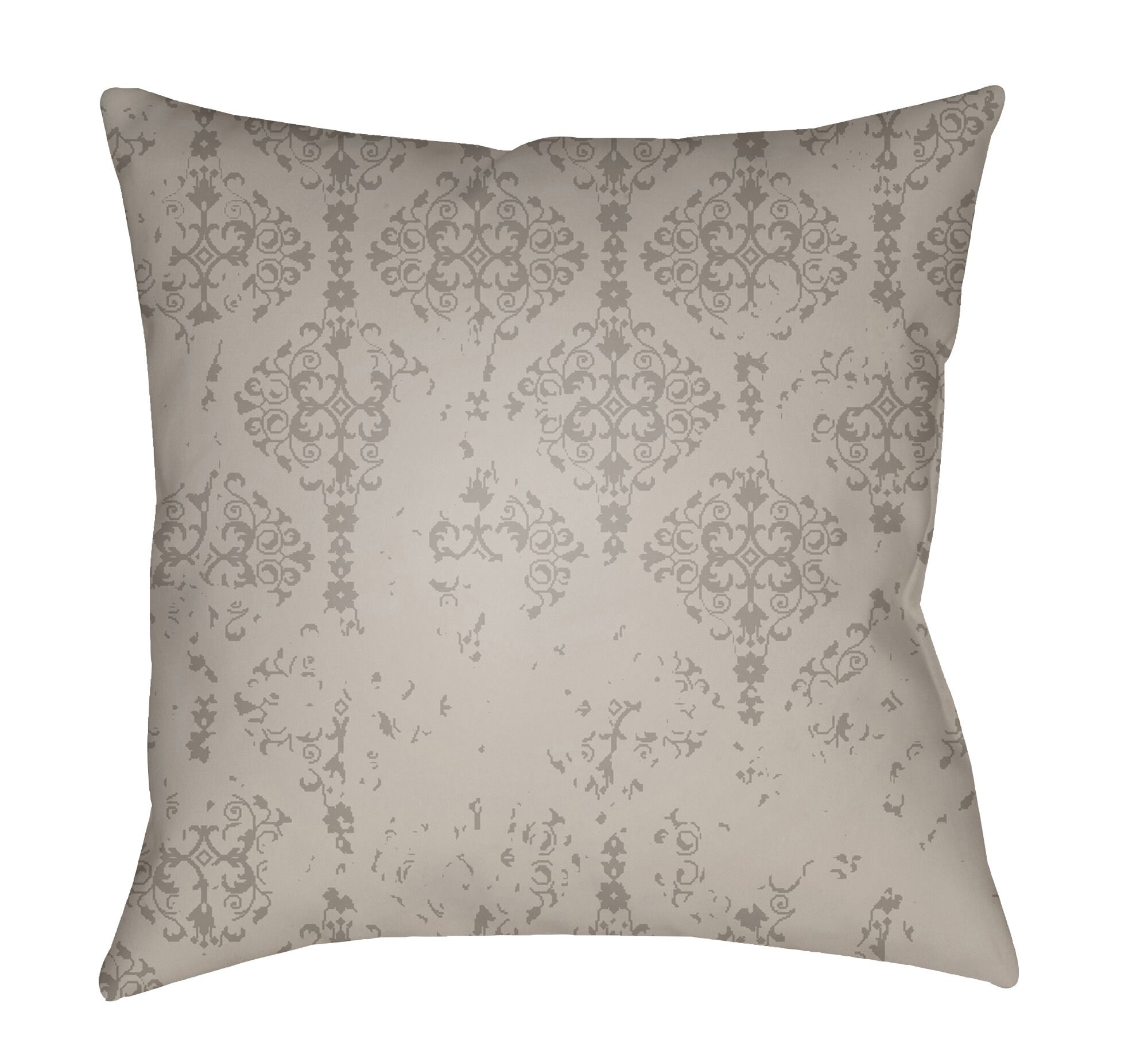 Patridge Indoor/Outdoor Throw Pillow Color: Medium Gray
