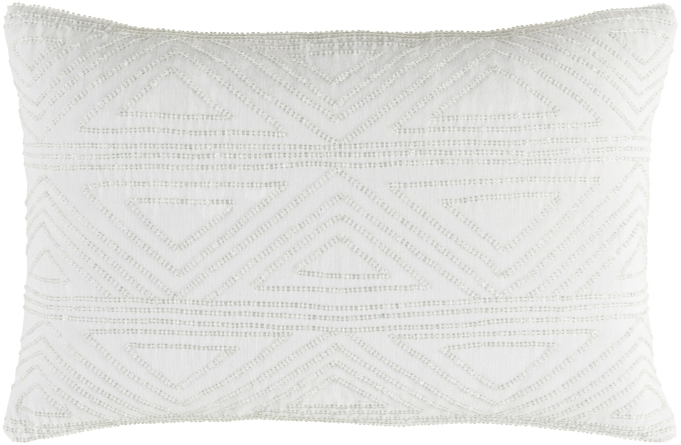 Kattie 100% Cotton Throw Pillow Fill Material: Down Fill, Color: White