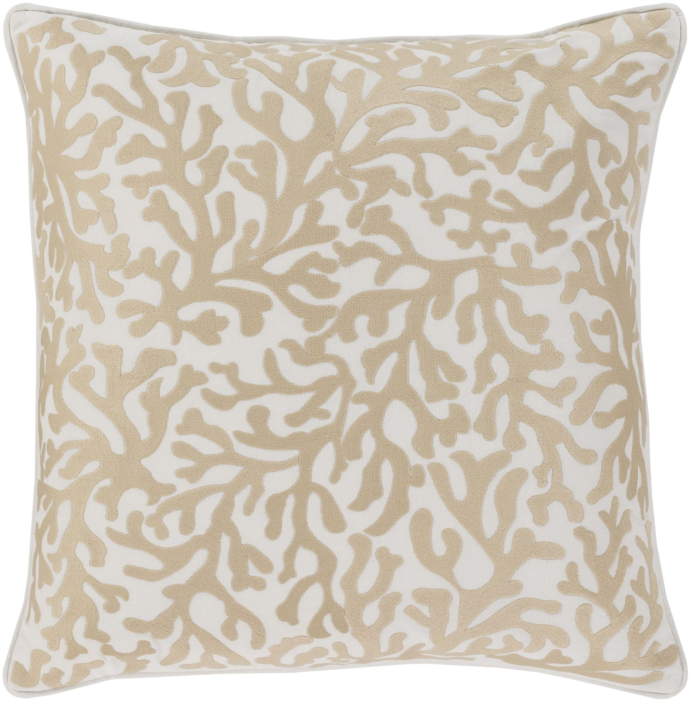 Chantel 100% Cotton Throw Pillow Size: 22