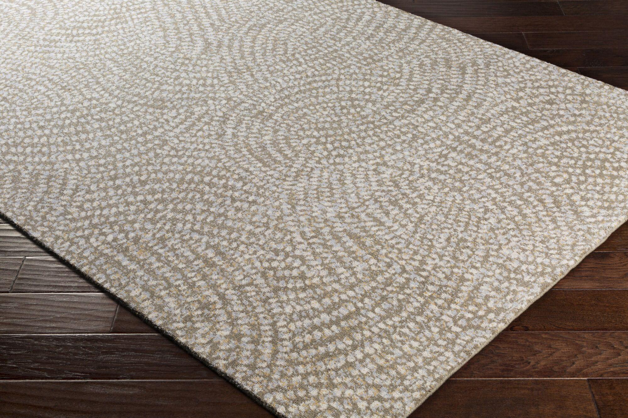 Seydou Modern Wool Camel Area Rug Rug Size: Rectangle 3'6