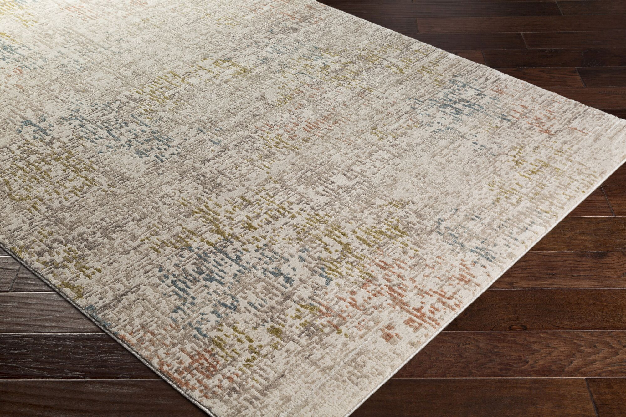 Holmes Distressed Lime Area Rug Rug Size: Rectangle 7'10