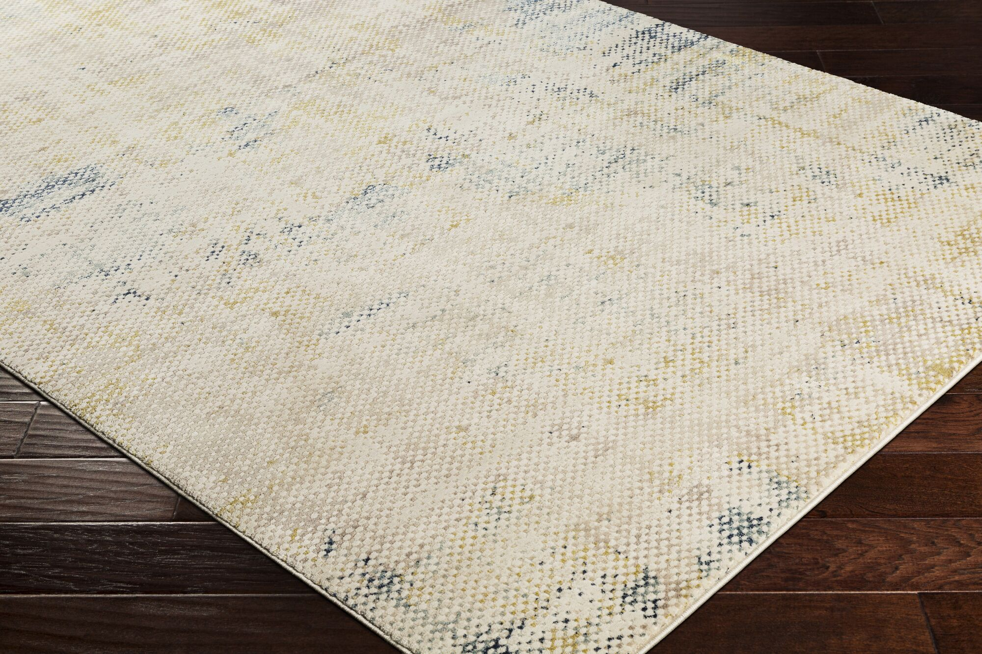 Holmes Distressed Navy Area Rug Rug Size: Rectangle 5'3