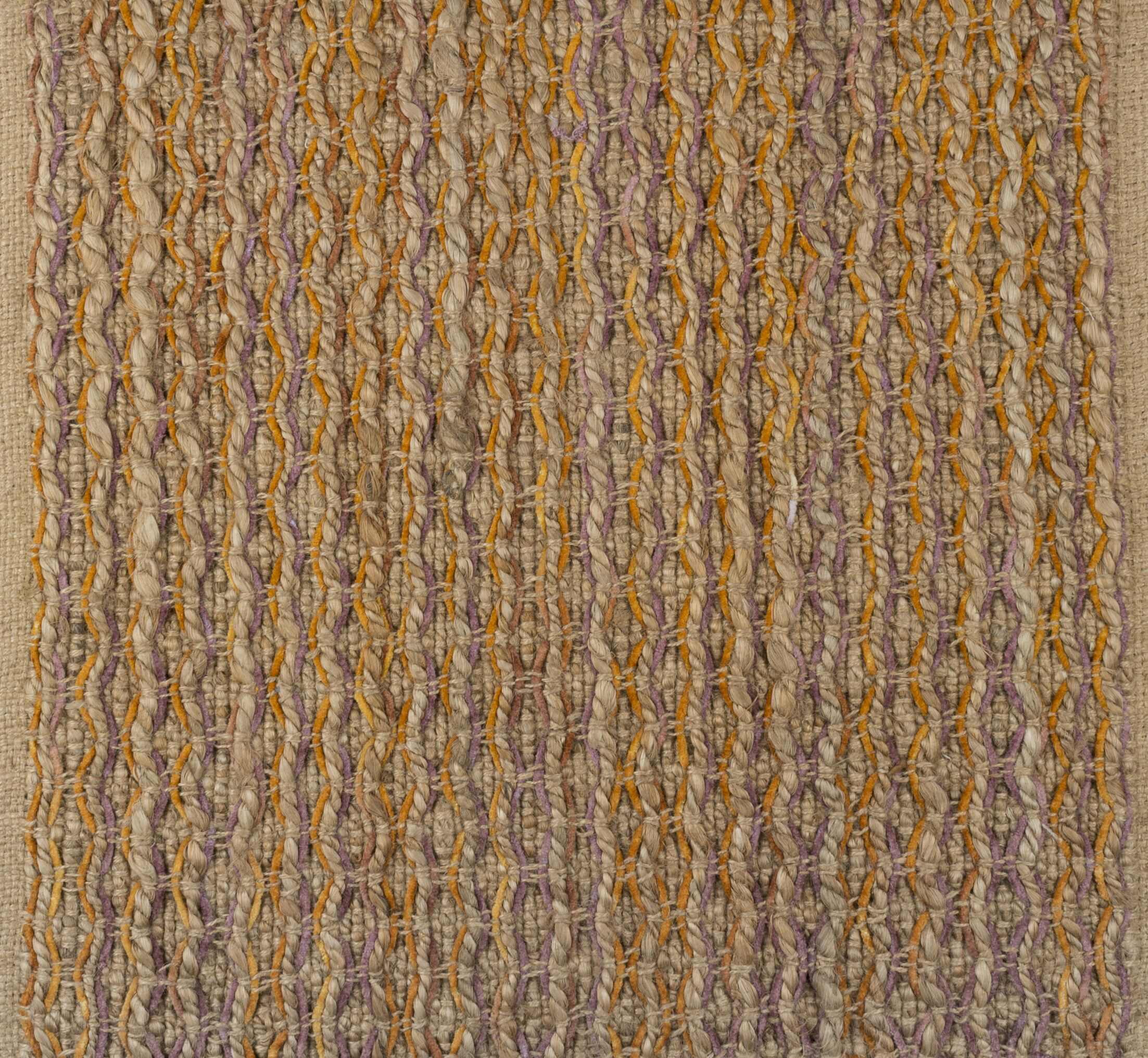 Horsham Jute Hand-Woven Beige/Mustard Area Rug Rug Size: Rectangle 8' x 10'