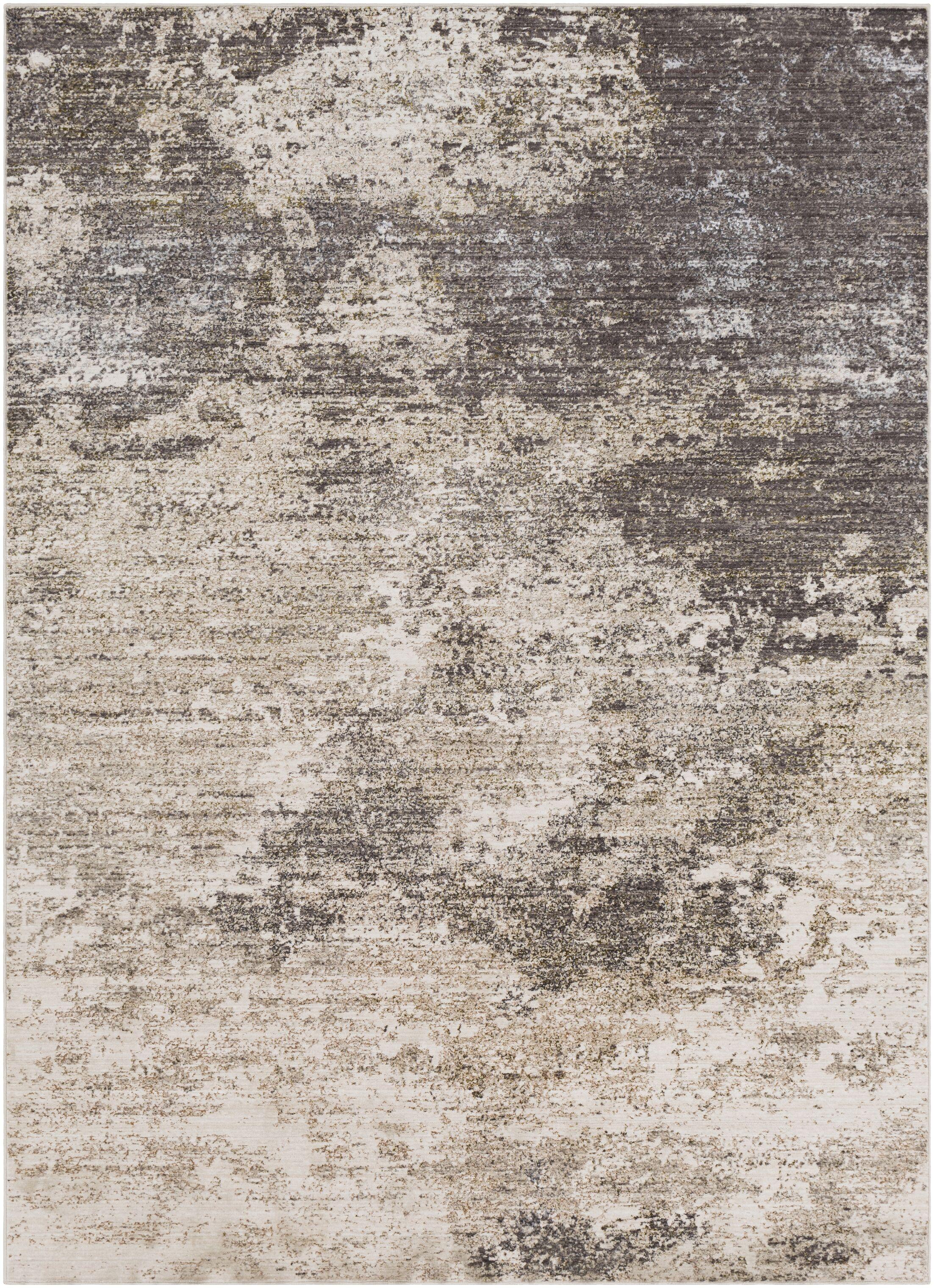 Granger Beige/Medium Gray Area Rug Rug Size: Rectangle 7'10