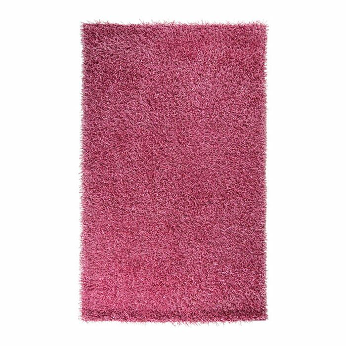 Claredon Hot Pink Area Rug Rug Size: Round 10'