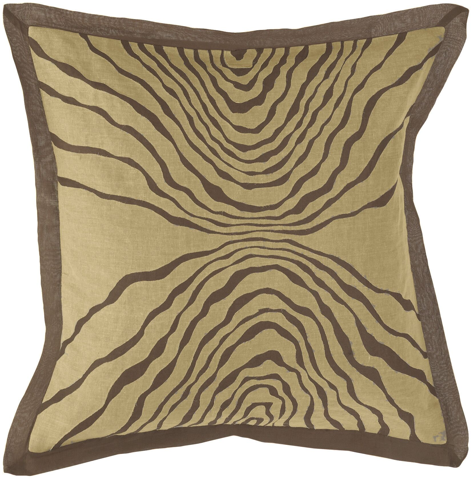 Inverted Throw Pillow Fill Material: Polyester