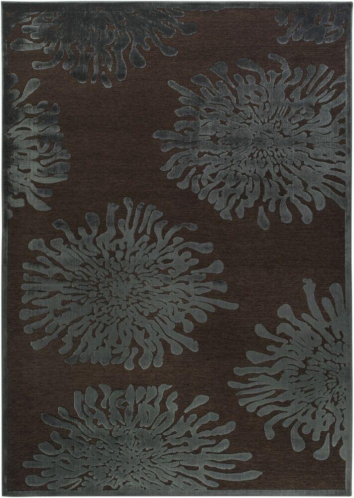 Nyla Mushroom/Teal Area Rug Rug Size: Rectangle 8'8
