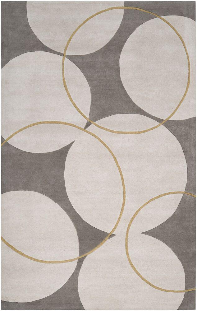 Truro Grey Area Rug Rug Size: Rectangle 9' x 13'
