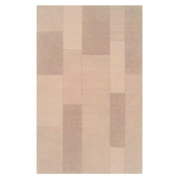 Juney Desert Sand Area Rug Rug Size: Rectangle 9' x 12'