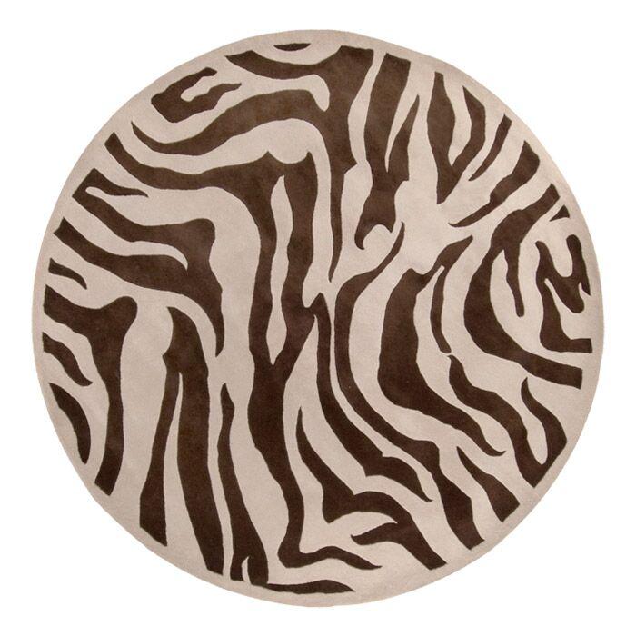 Akiva Zebra Print Area Rug Rug Size: Runner 2'6