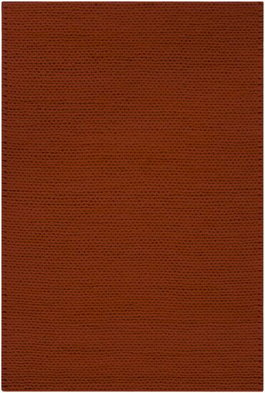 Jaxton Burnt Red Area Rug Rug Size: Rectangle 8' x 10'