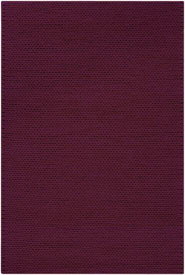 Jaxton Deep Purple Area Rug Rug Size: Rectangle 5' x 8'