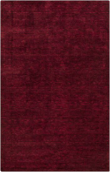 Griffith Maroon Red Area Rug Rug Size: Rectangle 2' x 3'