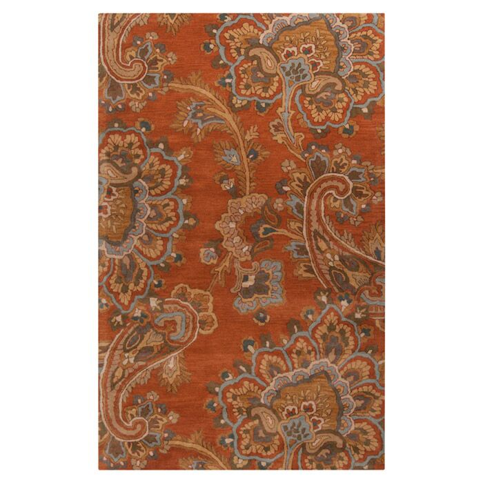 Busch Copper Penny Hand-Woven Rug Rug Size: Rectangle 9' x 13'