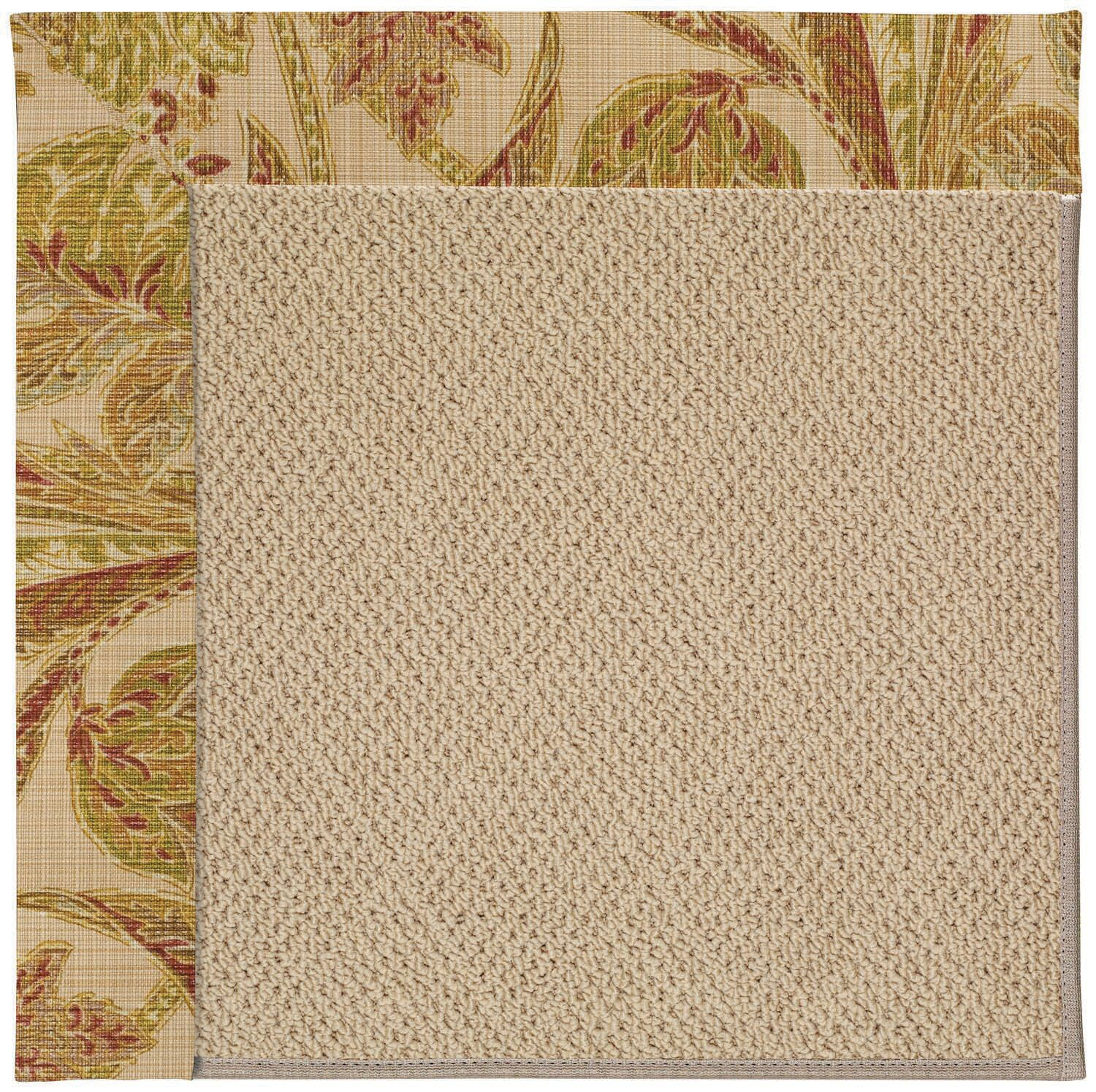 Lisle Machine Tufted Tan Indoor/Outdoor Area Rug Rug Size: Rectangle 8' x 10'