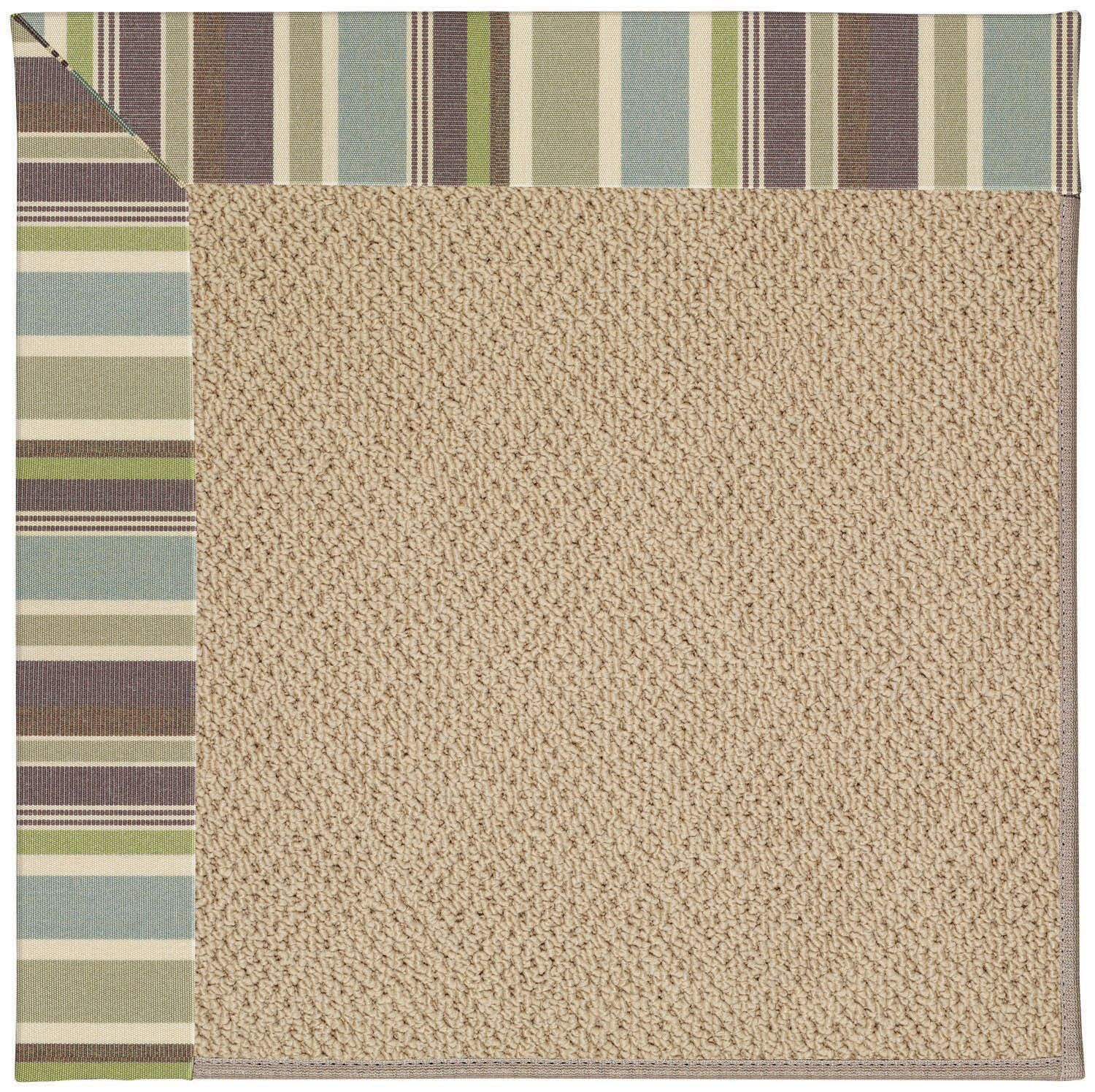 Lisle Machine Tufted Multi-colored/Beige Indoor/Outdoor Area Rug Rug Size: Rectangle 12' x 15'