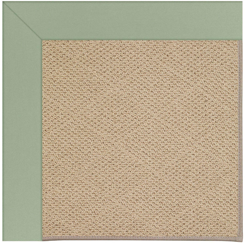 Lisle Machine Tufted Light Jade and Beige Indoor/Outdoor Area Rug Rug Size: Rectangle 7' x 9'