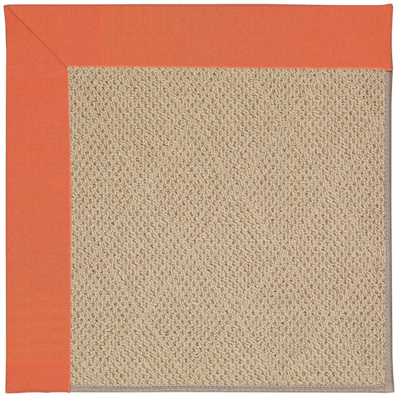 Lisle Machine Tufted Sorrel/Brown Indoor/Outdoor Area Rug Rug Size: Rectangle 7' x 9'