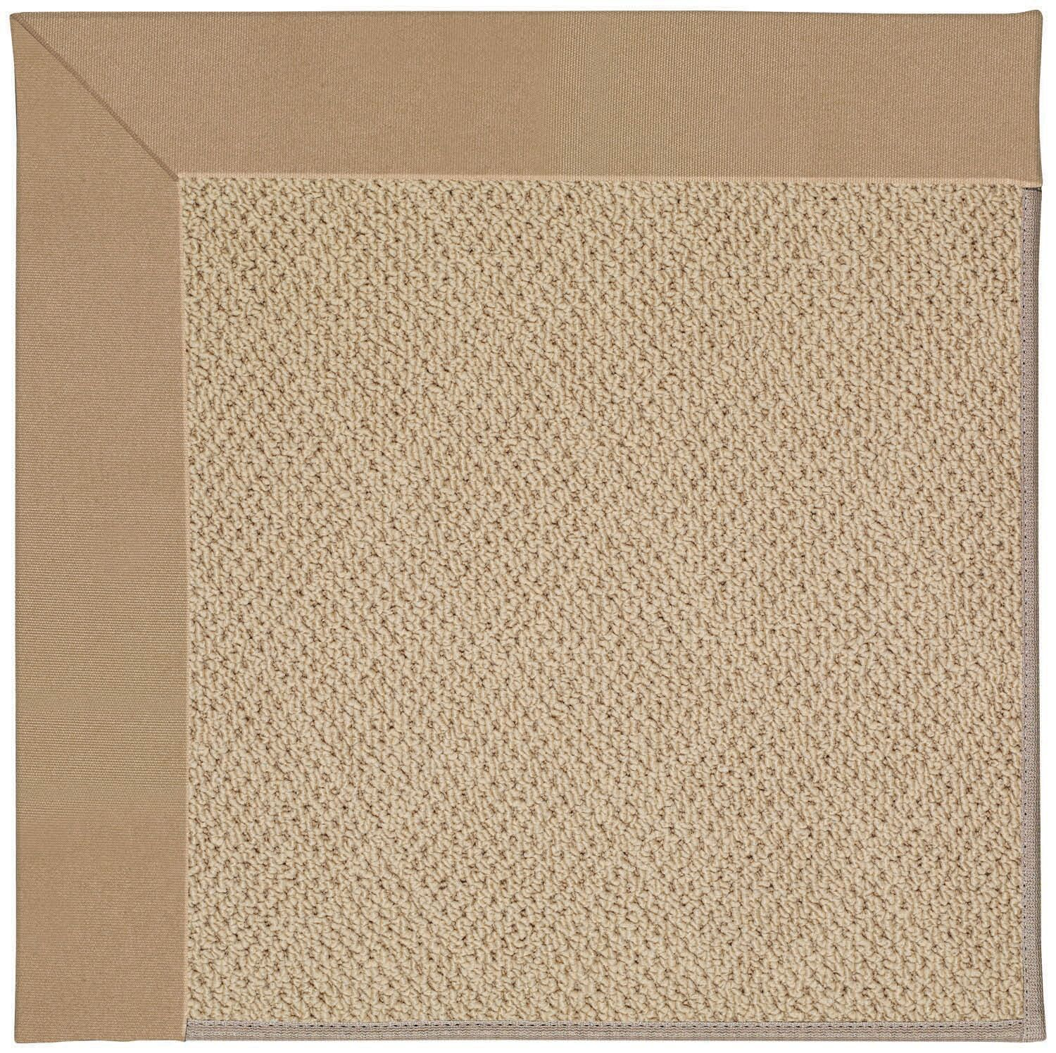 Lisle Machine Tufted Biscuit/Brown Indoor/Outdoor Area Rug Rug Size: Rectangle 3' x 5'