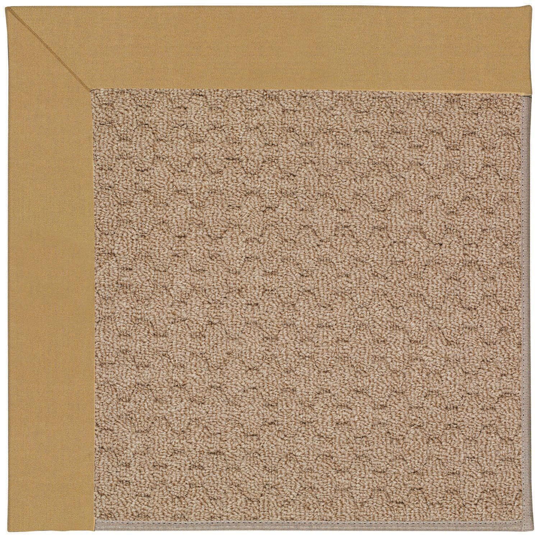 Lisle Machine Tufted Bronze/Brown Indoor/Outdoor Area Rug Rug Size: Rectangle 9' x 12'