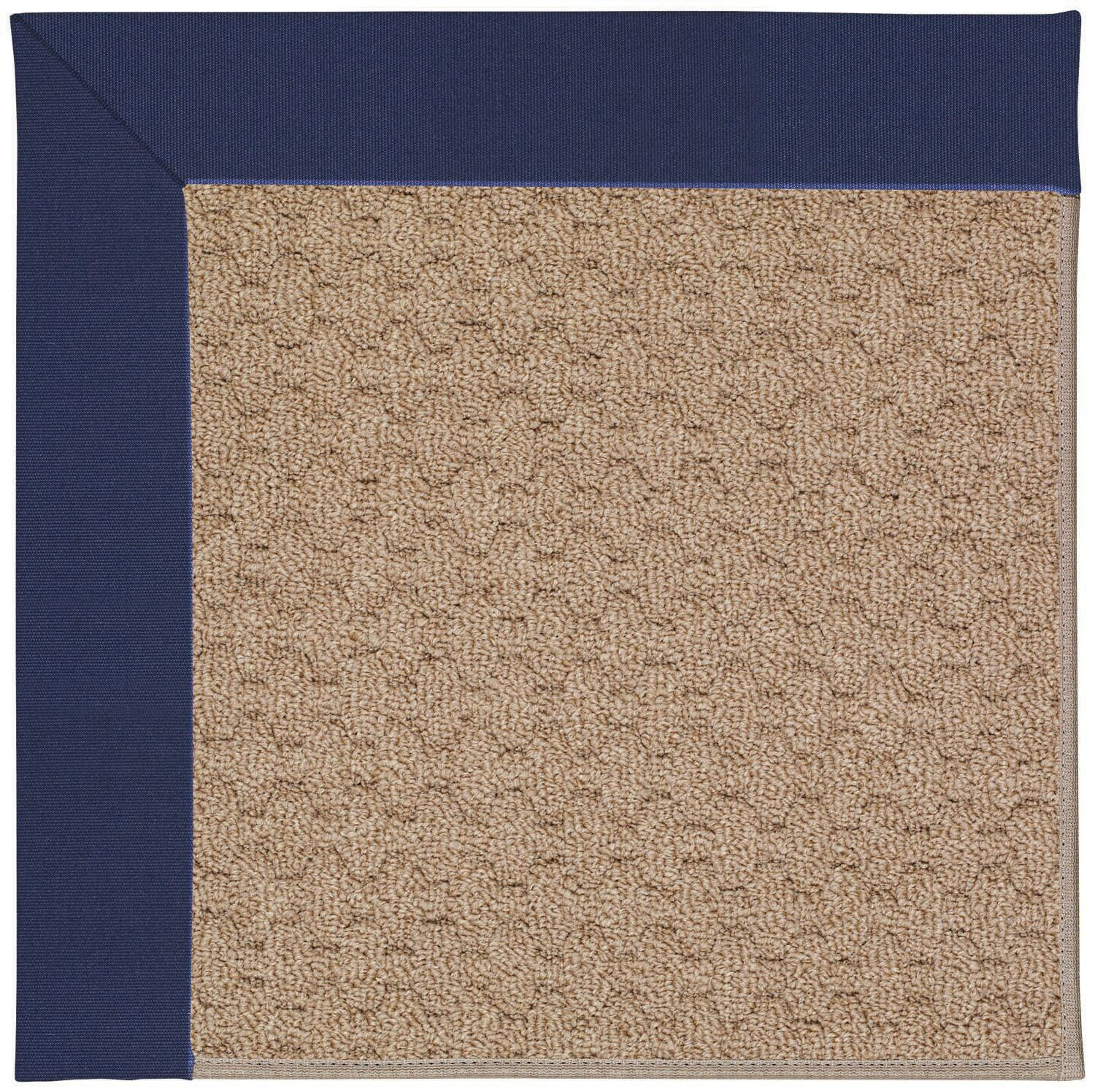 Lisle Machine Tufted Navy/Brown Indoor/Outdoor Area Rug Rug Size: Rectangle 9' x 12'