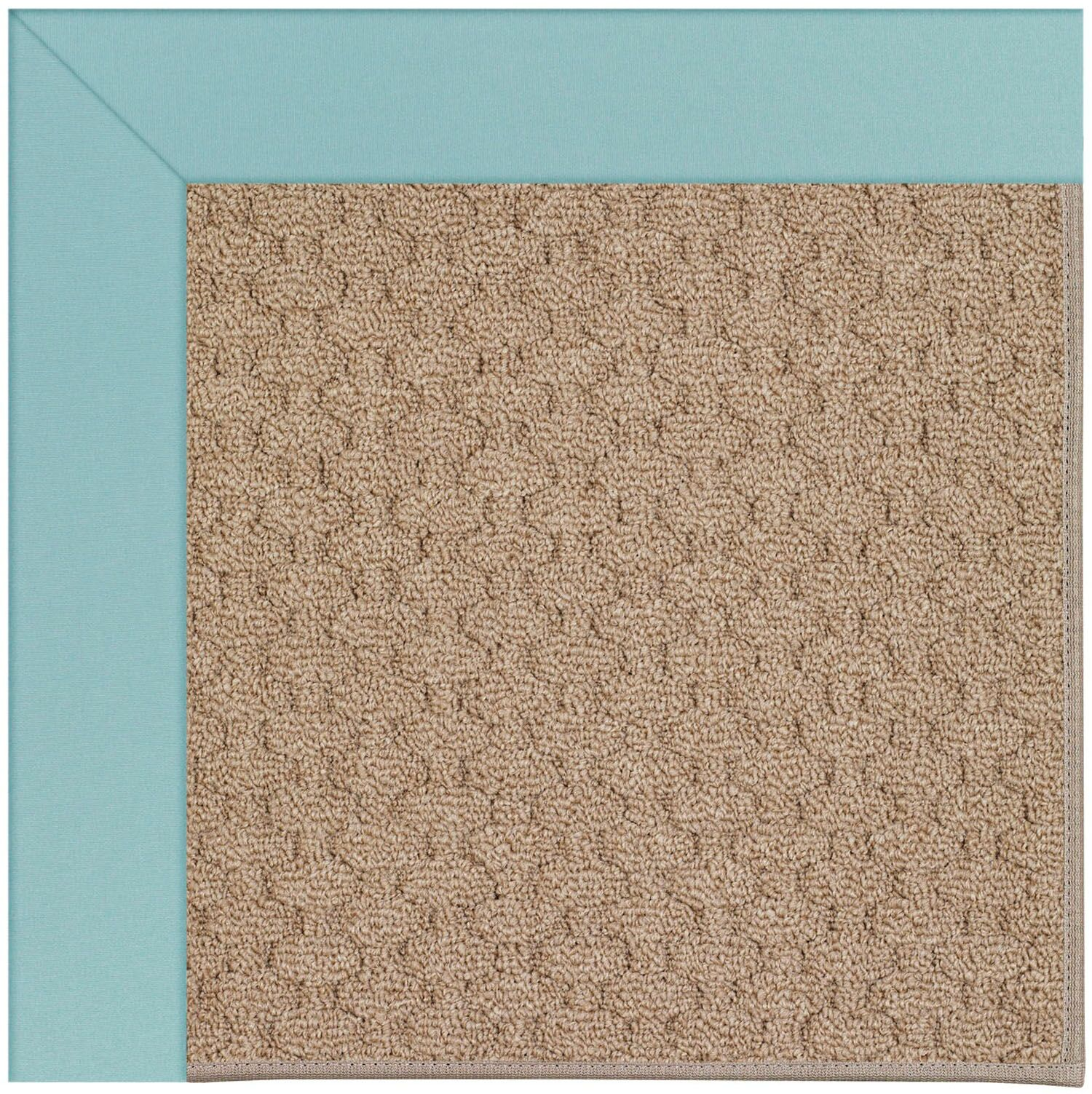 Lisle Machine Tufted Seafaring Blue/Brown Indoor/Outdoor Area Rug Rug Size: Rectangle 7' x 9'