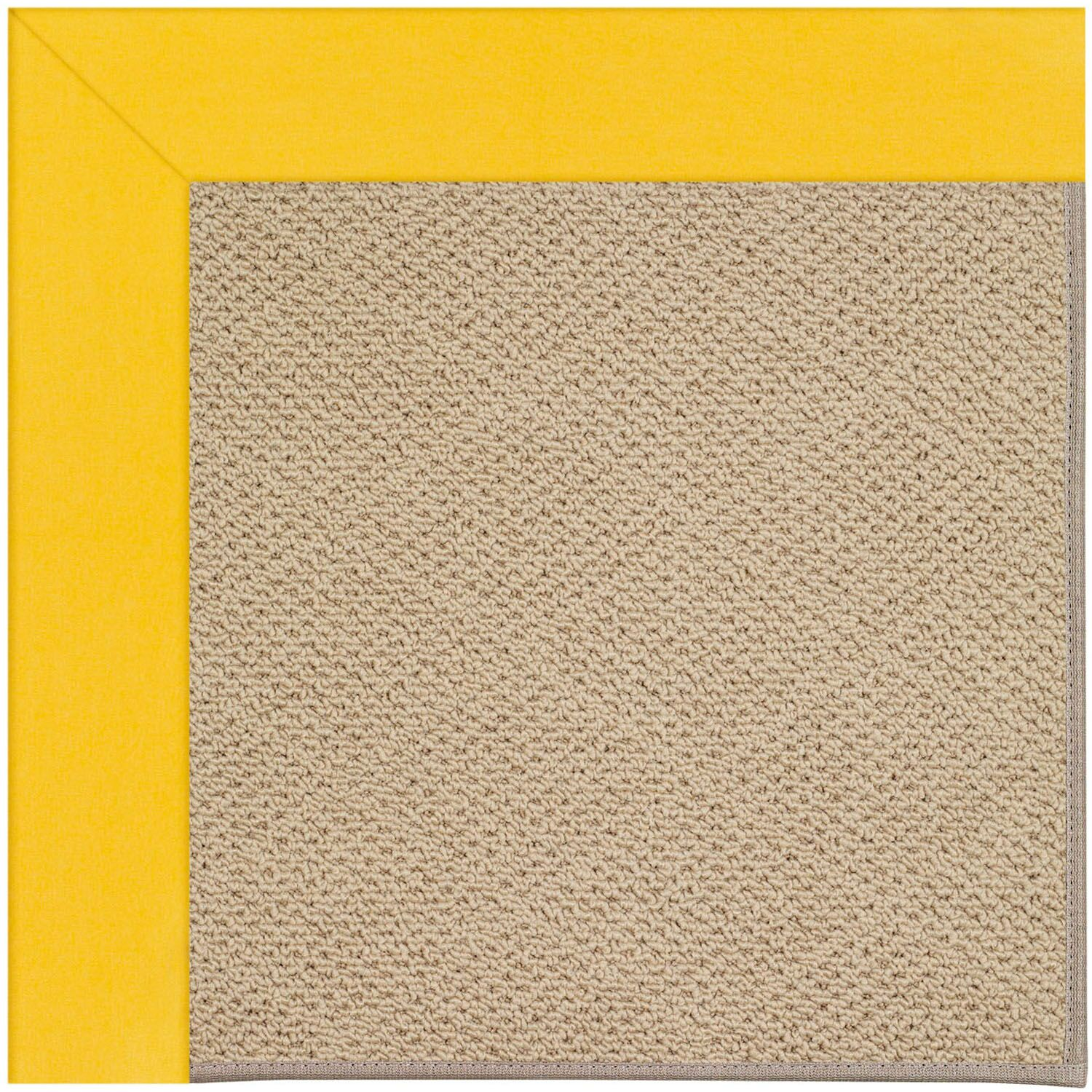 Lisle Machine Tufted Summertime Yellow Indoor/Outdoor Area Rug Rug Size: Rectangle 9' x 12'