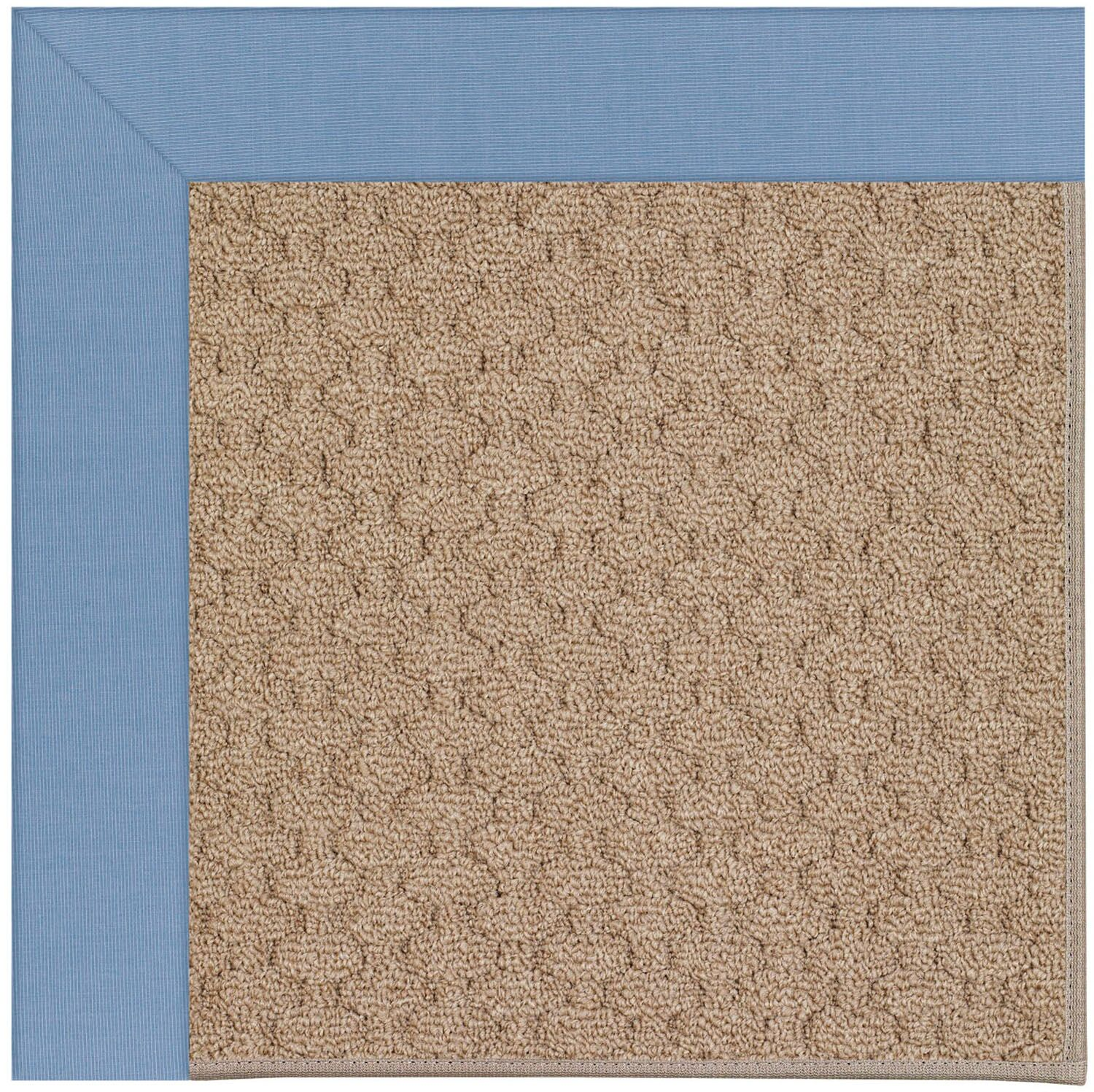 Lisle Machine Tufted Blue/Brown Indoor/Outdoor Area Rug Rug Size: Square 8'