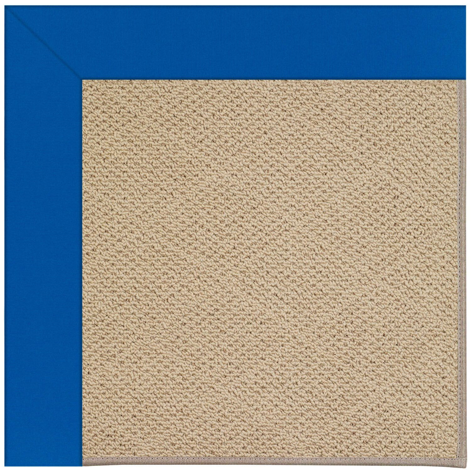 Lisle Machine Tufted Reef Blue/Brown Indoor/Outdoor Area Rug Rug Size: Rectangle 8' x 10'