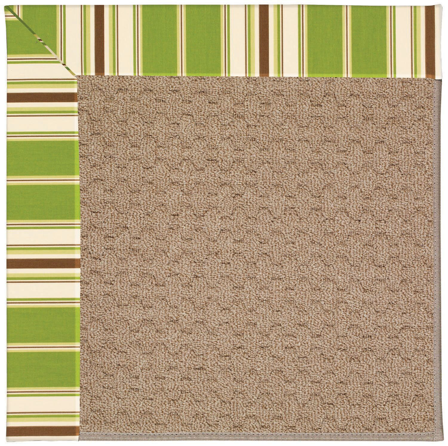 Lisle Machine Tufted Green/Brown Indoor/Outdoor Area Rug Rug Size: Rectangle 10' x 14'