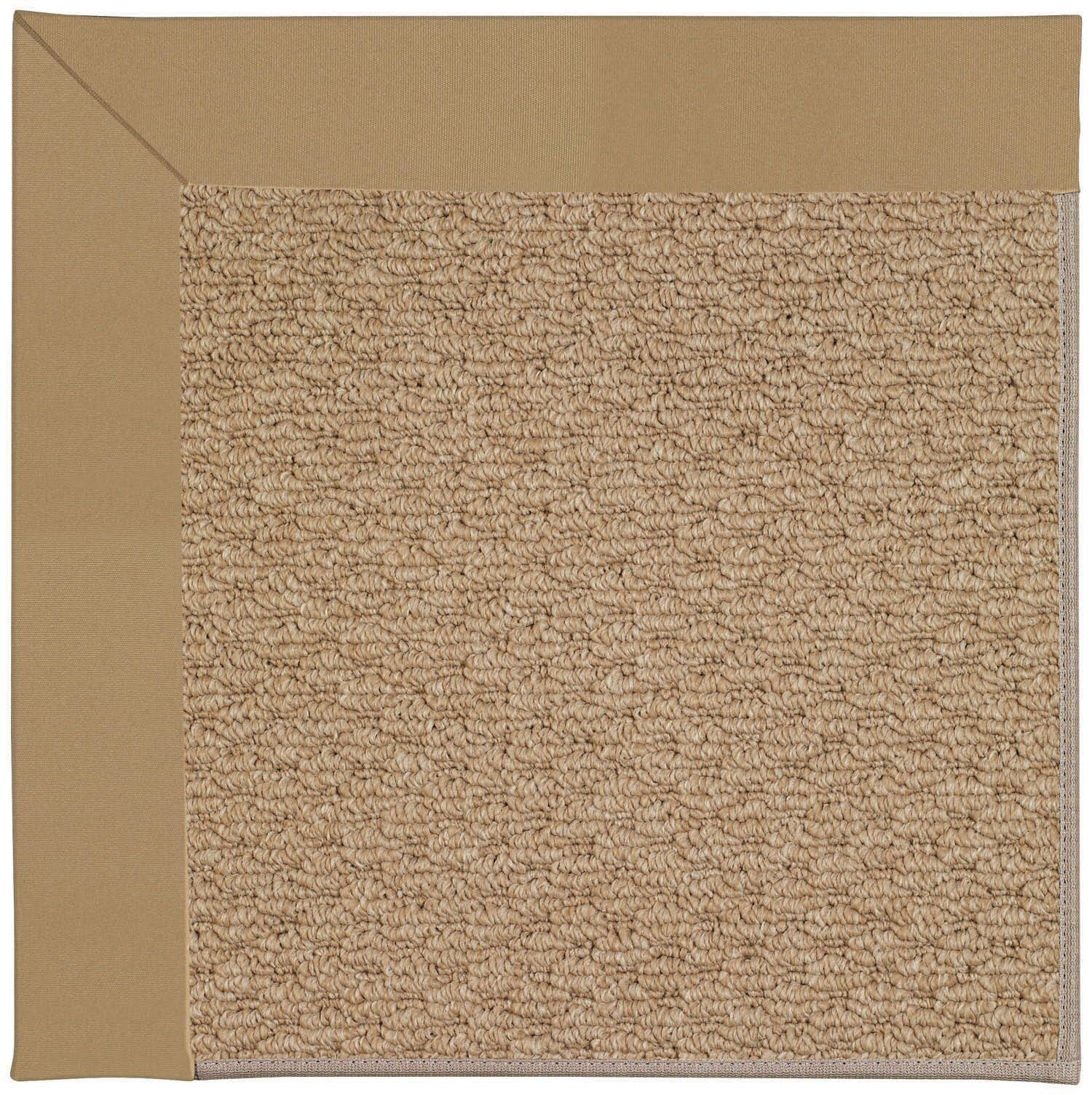 Lisle Machine Tufted Light Gold Indoor/Outdoor Area Rug Rug Size: Rectangle 10' x 14'