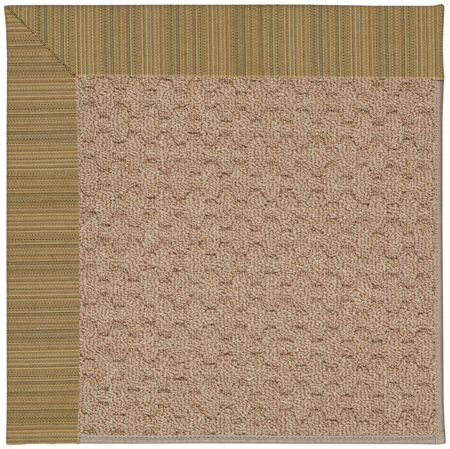 Lisle Machine Tufted Indoor/Outdoor Area Rug Rug Size: Square 4'