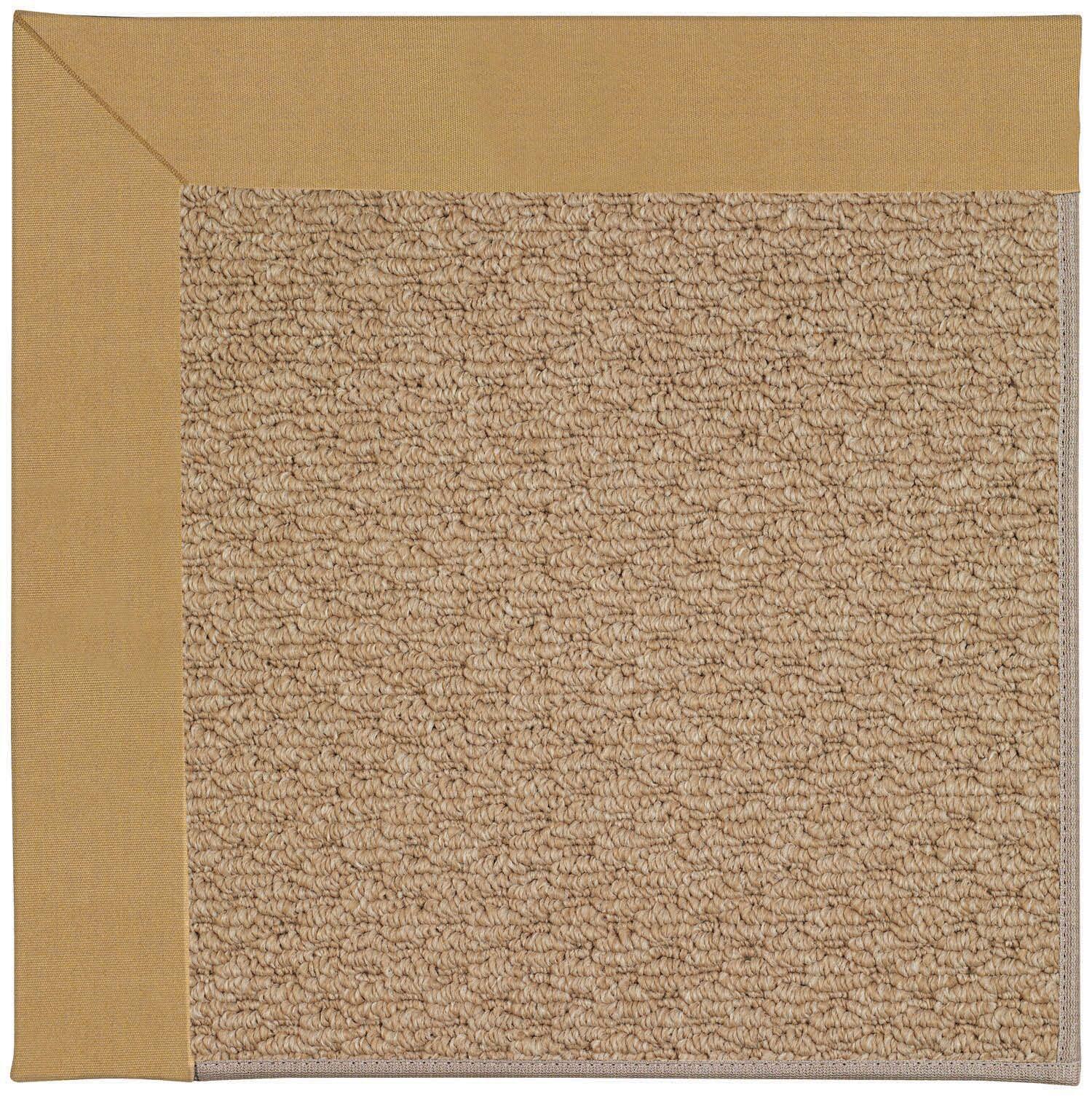 Lisle Machine Tufted Bronze Indoor/Outdoor Area Rug Rug Size: Rectangle 7' x 9'