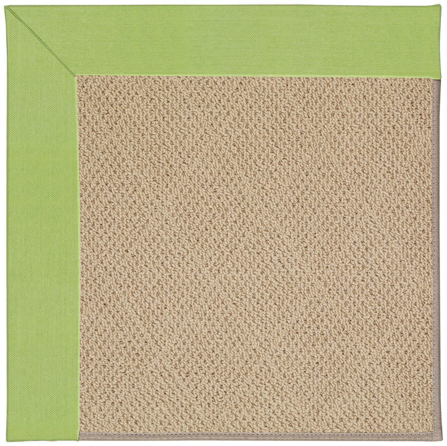Lisle Machine Tufted Parakeet/Brown Indoor/Outdoor Area Rug Rug Size: Square 4'