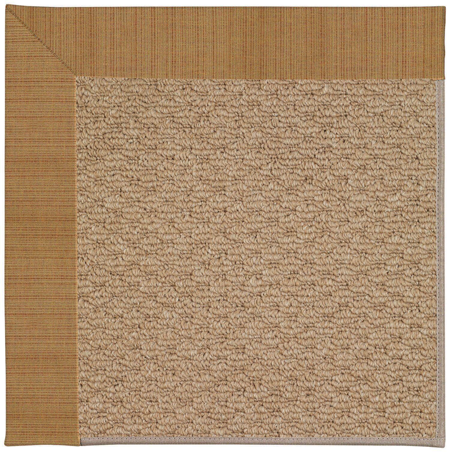 Lisle Machine Tufted Golden Indoor/Outdoor Area Rug Rug Size: Rectangle 5' x 8'