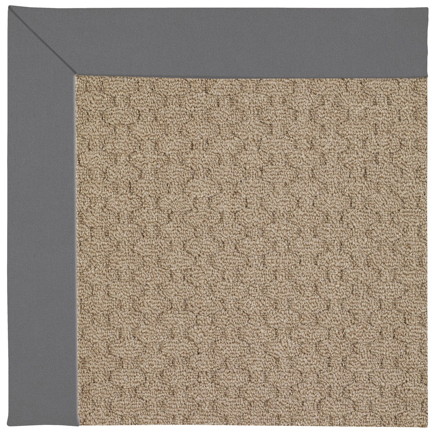 Lisle Machine Tufted Ash Indoor/Outdoor Area Rug Rug Size: Rectangle 12' x 15'