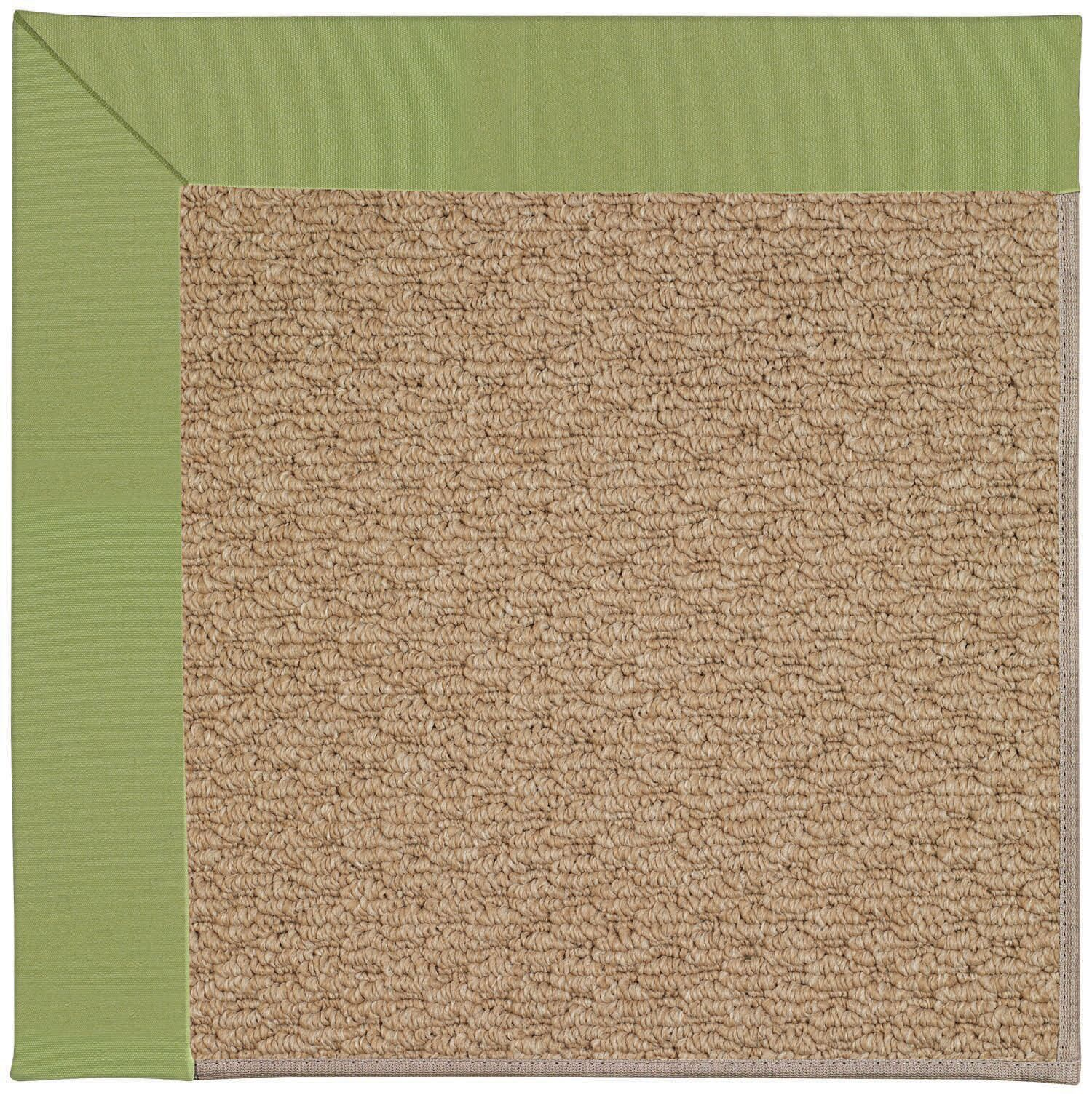 Lisle Machine Tufted Green/Brown Indoor/Outdoor Area Rug Rug Size: Rectangle 5' x 8'