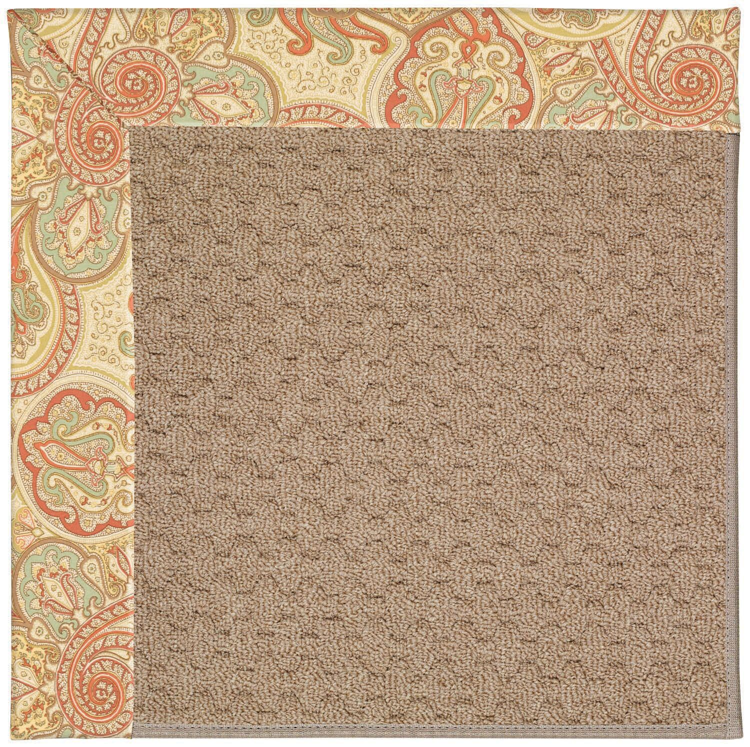 Lisle Machine Tufted Auburn/Brown Indoor/Outdoor Area Rug Rug Size: Rectangle 4' x 6'