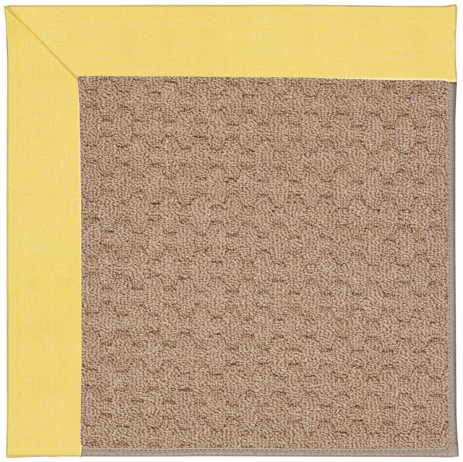 Lisle Machine Tufted Yellow/Brown Indoor/Outdoor Area Rug Rug Size: Rectangle 9' x 12'