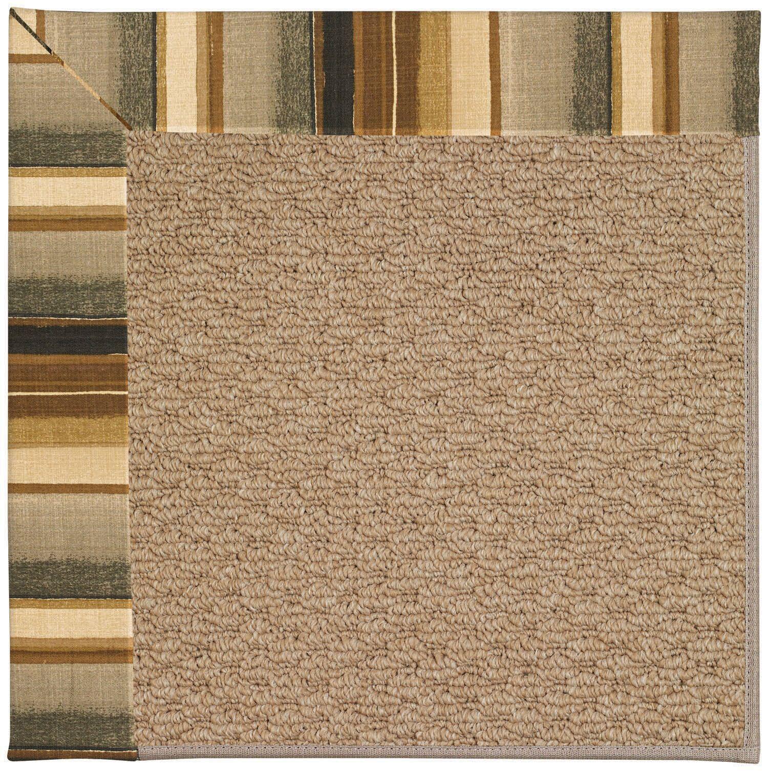 Lisle Machine Tufted Cinders/Brown Indoor/Outdoor Area Rug Rug Size: Rectangle 10' x 14'
