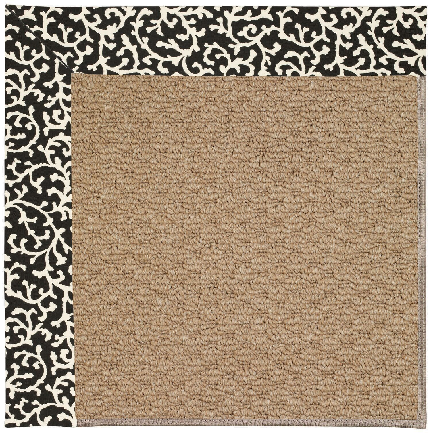 Lisle Machine Woven Cascade Indoor/Outdoor Area Rug Rug Size: Rectangle 4' x 6'