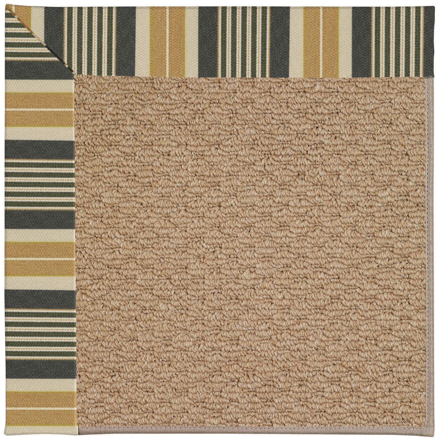 Lisle Machine Tufted Multi-colored Indoor/Outdoor Area Rug Rug Size: Square 6'
