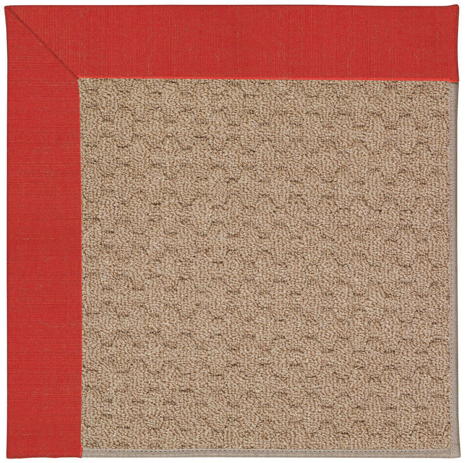 Lisle Machine Tufted Red/Brown Indoor/Outdoor Area Rug Rug Size: Rectangle 4' x 6'