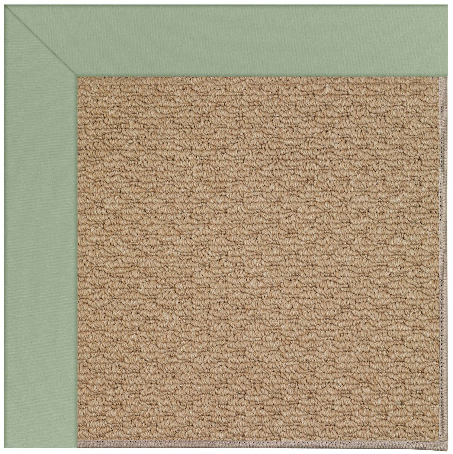 Lisle Machine Tufted Light Jade/Brown Indoor/Outdoor Area Rug Rug Size: Rectangle 12' x 15'