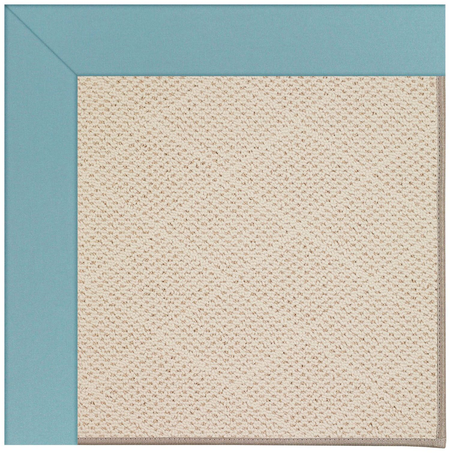 Lisle Sea Blue Indoor/Outdoor Area Rug Rug Size: Rectangle 2' x 3'