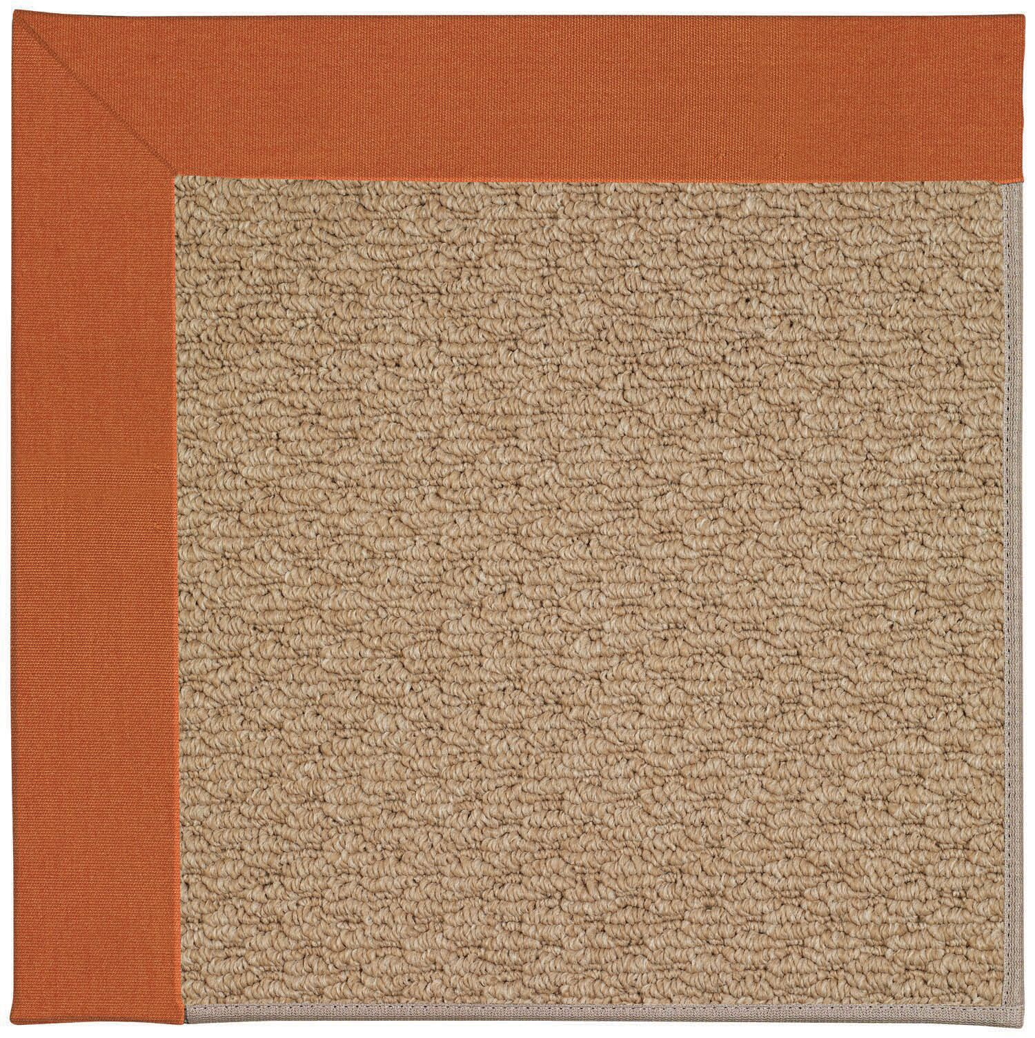 Lisle Machine Tufted Russett/Brown Indoor/Outdoor Area Rug Rug Size: Square 4'