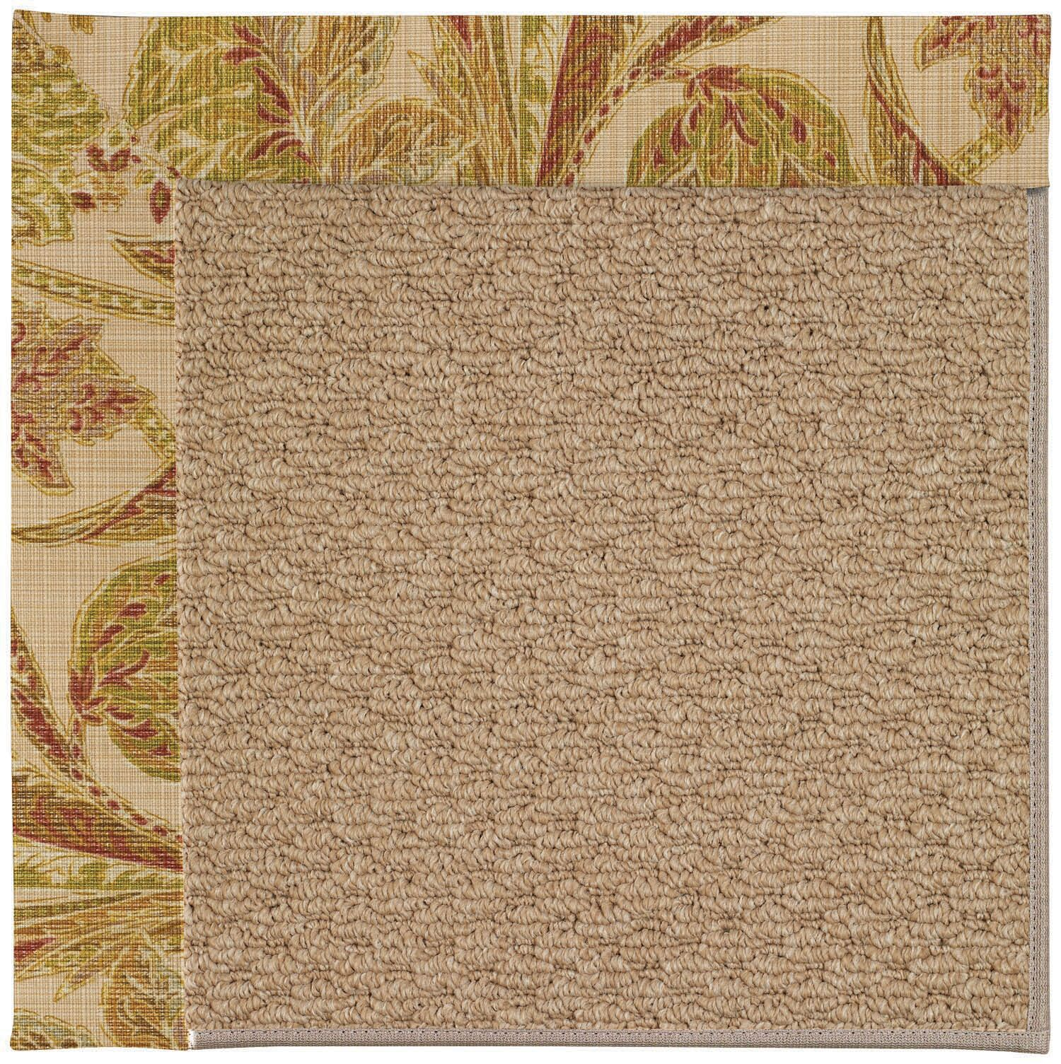 Lisle Machine Tufted Tan/Brown Indoor/Outdoor Area Rug Rug Size: Rectangle 3' x 5'